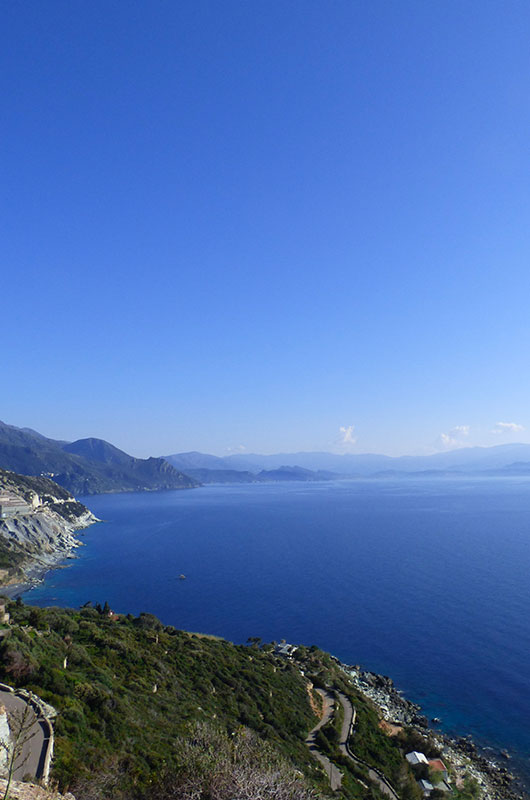 The views to see in the Cap Corse