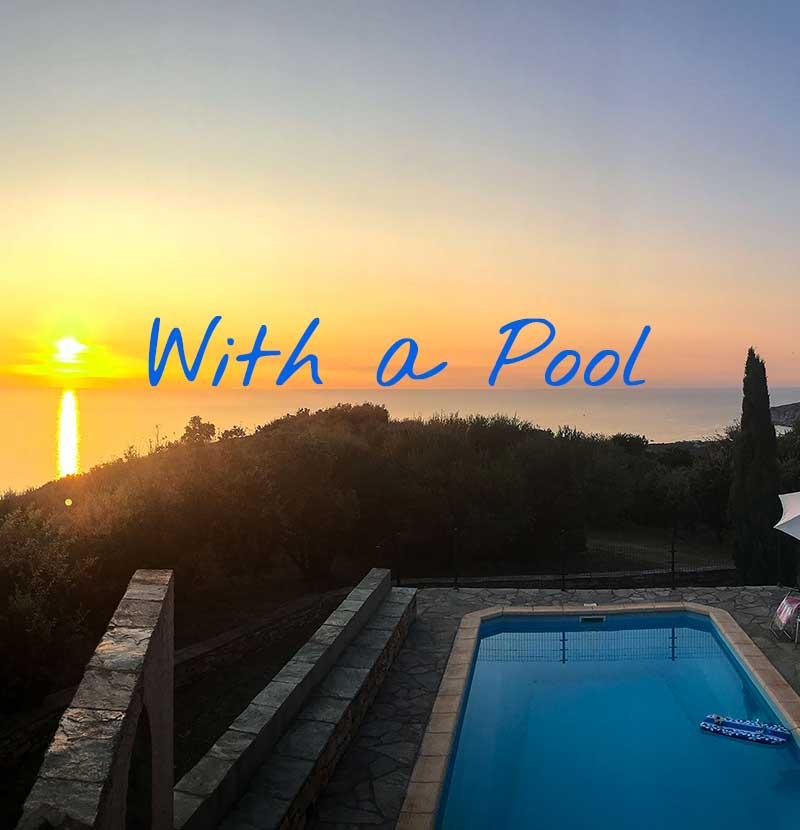 Holiday Rentals with Pool in Cap Corse (Northern Corsica)
