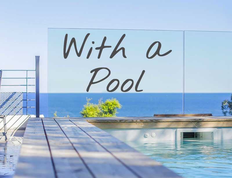 Holiday rentals, villas with a swimming pool in Cap Corse (North Corsica)