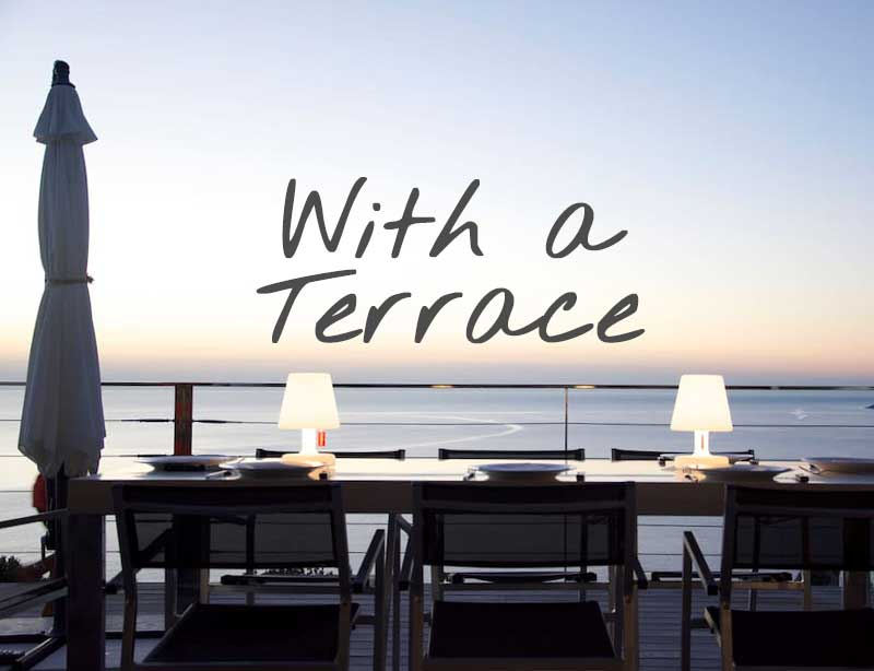 Vacation rentals with terrace in Cap Corse (Northern Corsica)