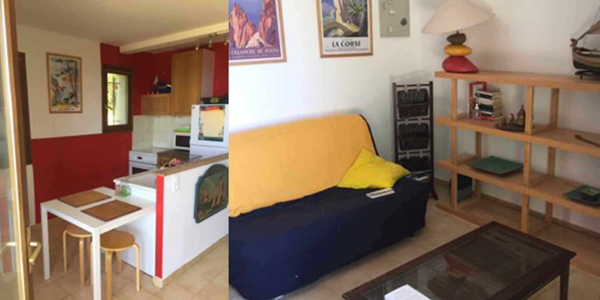 wohnung renovierung appartement im erdgeschoss, ferienwohnungen und ferienhäuser in nordkorsika : in der nähe des, Design ideen