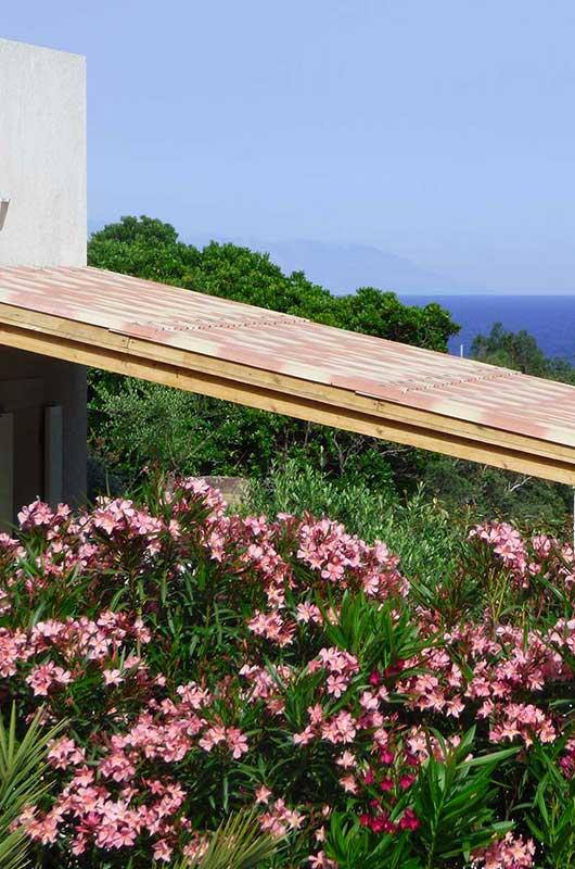 Agréable appartement climatisé, belle vue et terrasse ombragée