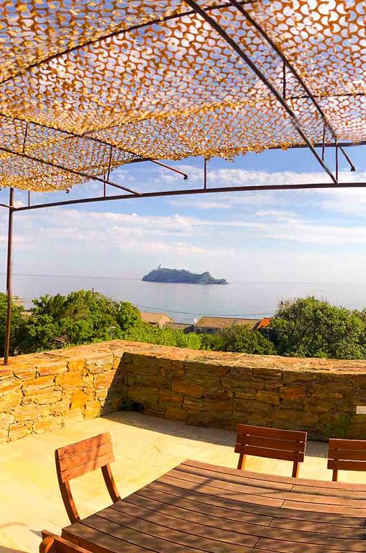 """Villa moderne près de la plage : """"La Belle Vie"""" pour 2 personnes"""