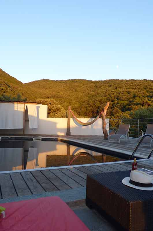 Superb villa of 175m2 with swimming pool, sea view and maquis