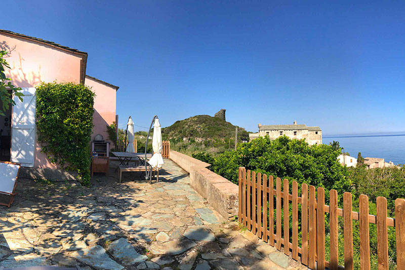 At the Pino Navy, charming house with breathtaking sea views par Locations Cap Corse