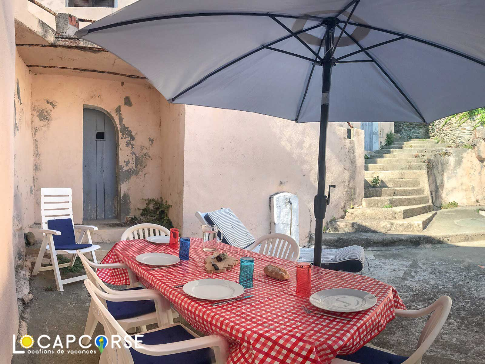 Locations Cap Corse - Holiday rental Barrettali in Cap Corse for 3/4 persons with terrace