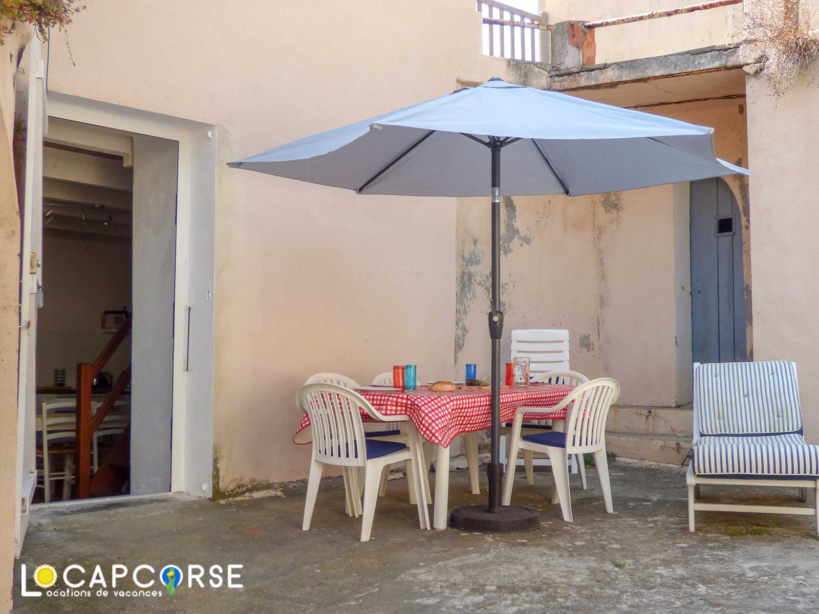 Locations Cap Corse - Terrasse