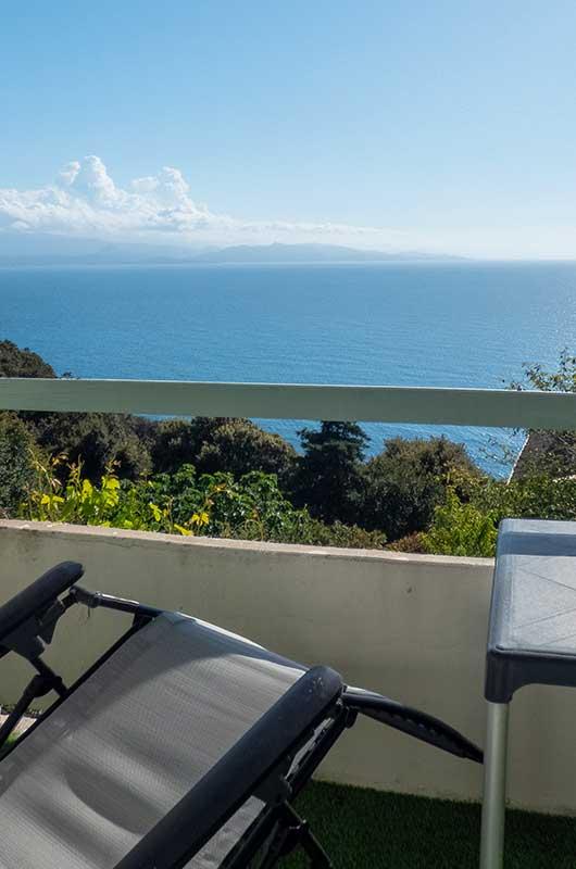 Appartamento con vista mare a Canari vicino alla spiaggia di Albo par Locations Cap Corse