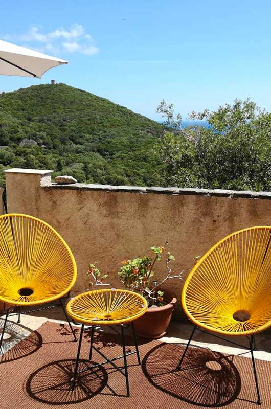 Comfortable and pleasant village house with terrace and sea view par Locations Cap Corse