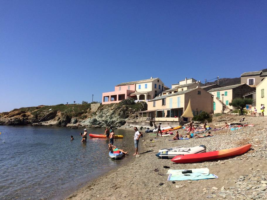 Locations Cap Corse - The beach 300 meters from the villa