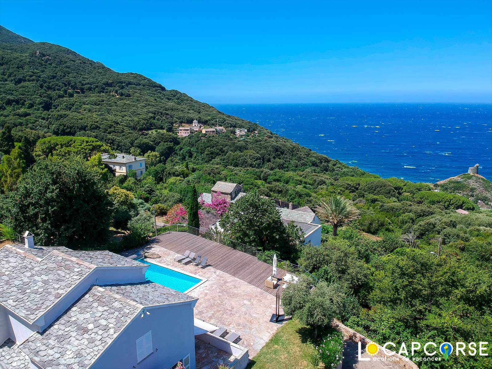 Locations Cap Corse -