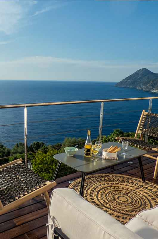 Bella casa con terrazza e vista panoramica sul mare by Locations Cap Corse
