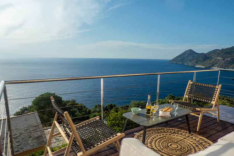 Beautiful house with terrace and panoramic sea views par Locations Cap Corse