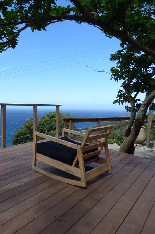 A Morsiglia, bella casa di carattere con terrazzi e vista panoramica sul mare par Locations Cap Corse