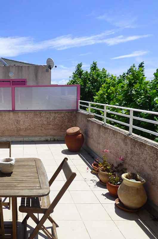 Appartement sur la côte est du Cap Corse, avec une grande terrasse & 3 chambres en bord de mer