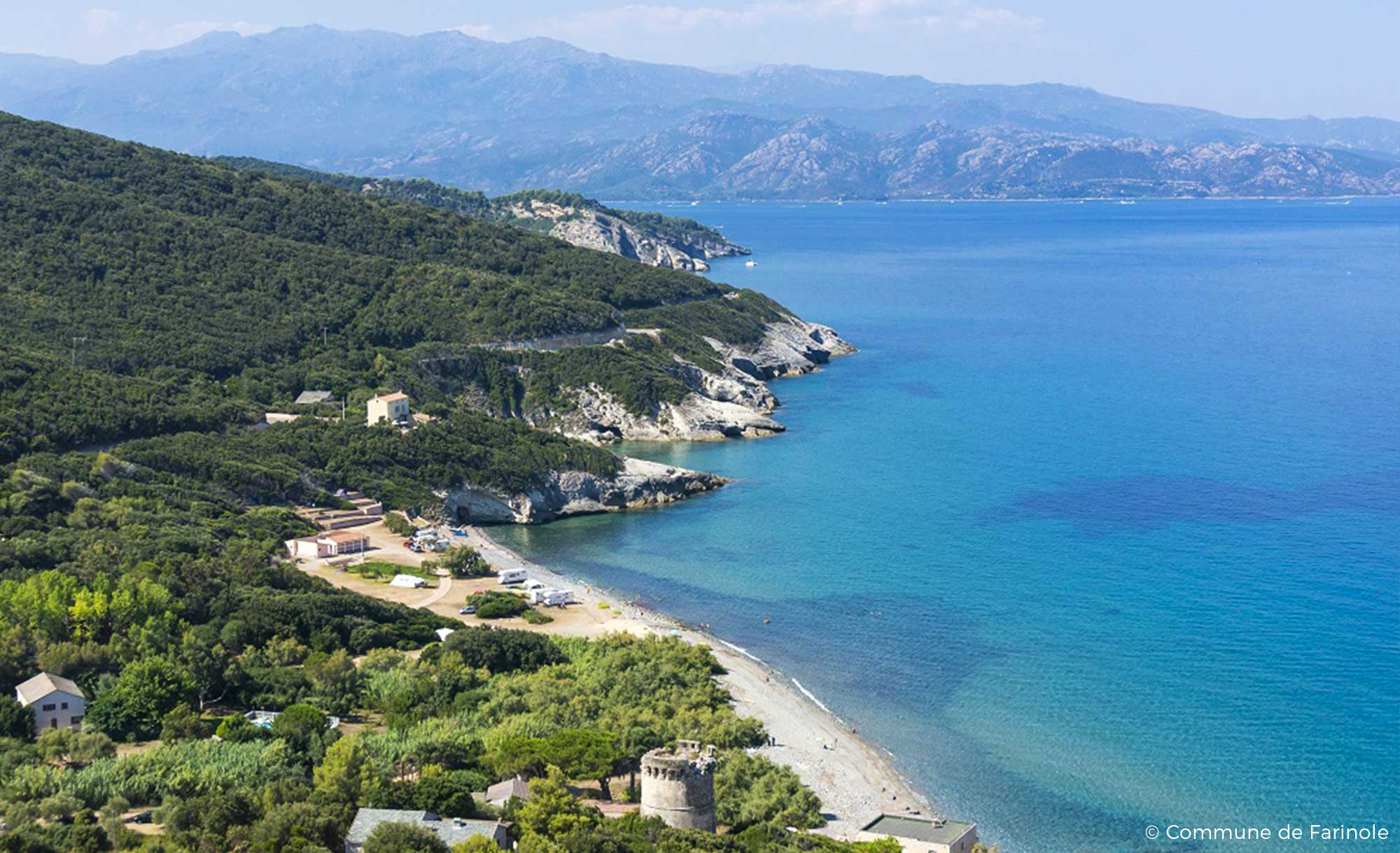 Vacation rentals in Farinole in Cap Corse, near Saint-Florent - Marine de Farinole